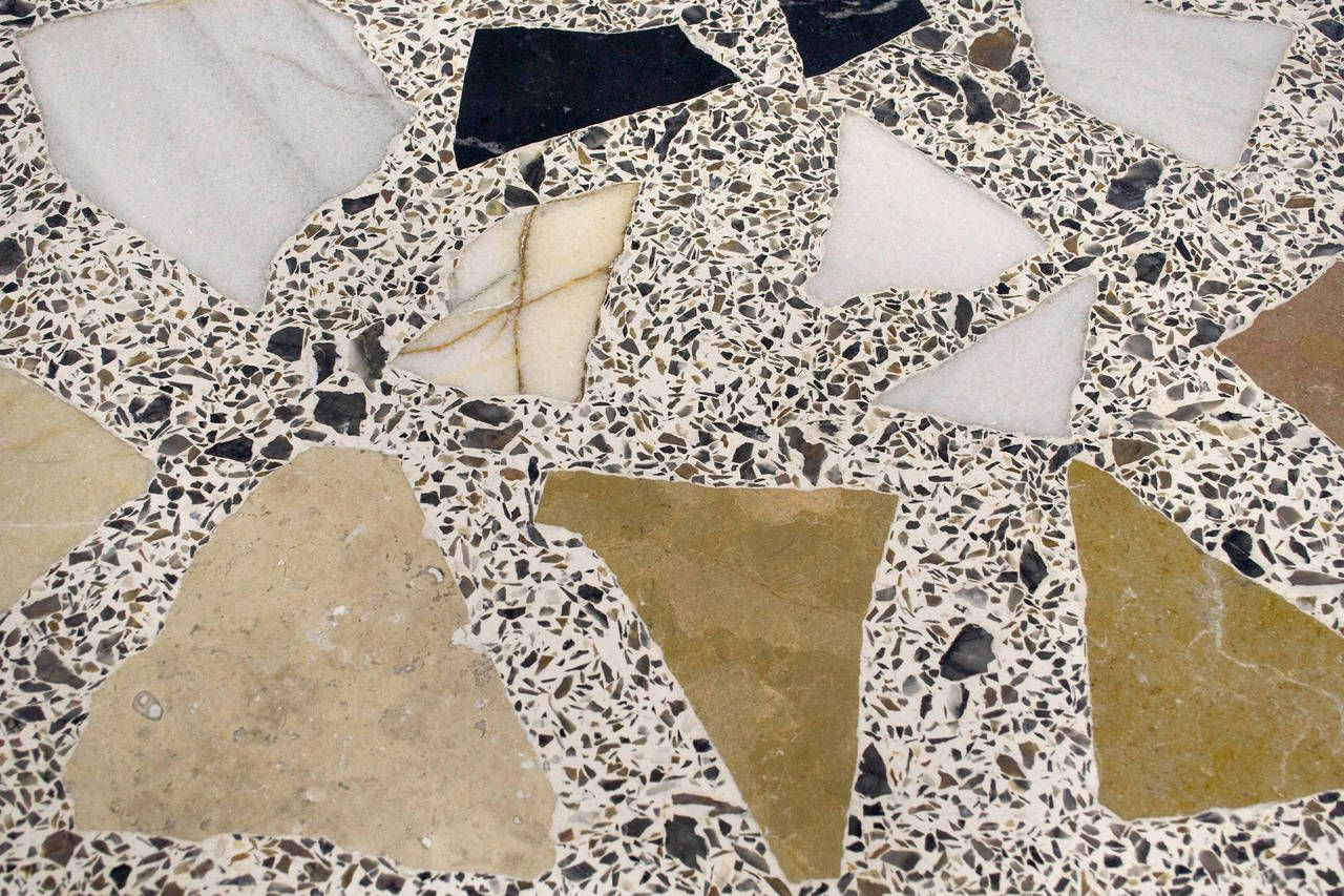terrazzo marble gueridon france circa 1960 pinterest. Black Bedroom Furniture Sets. Home Design Ideas
