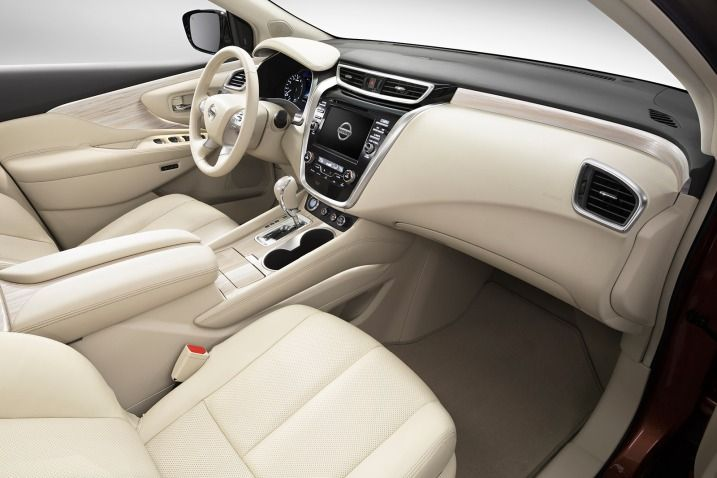 2017 Nissan Murano Interior