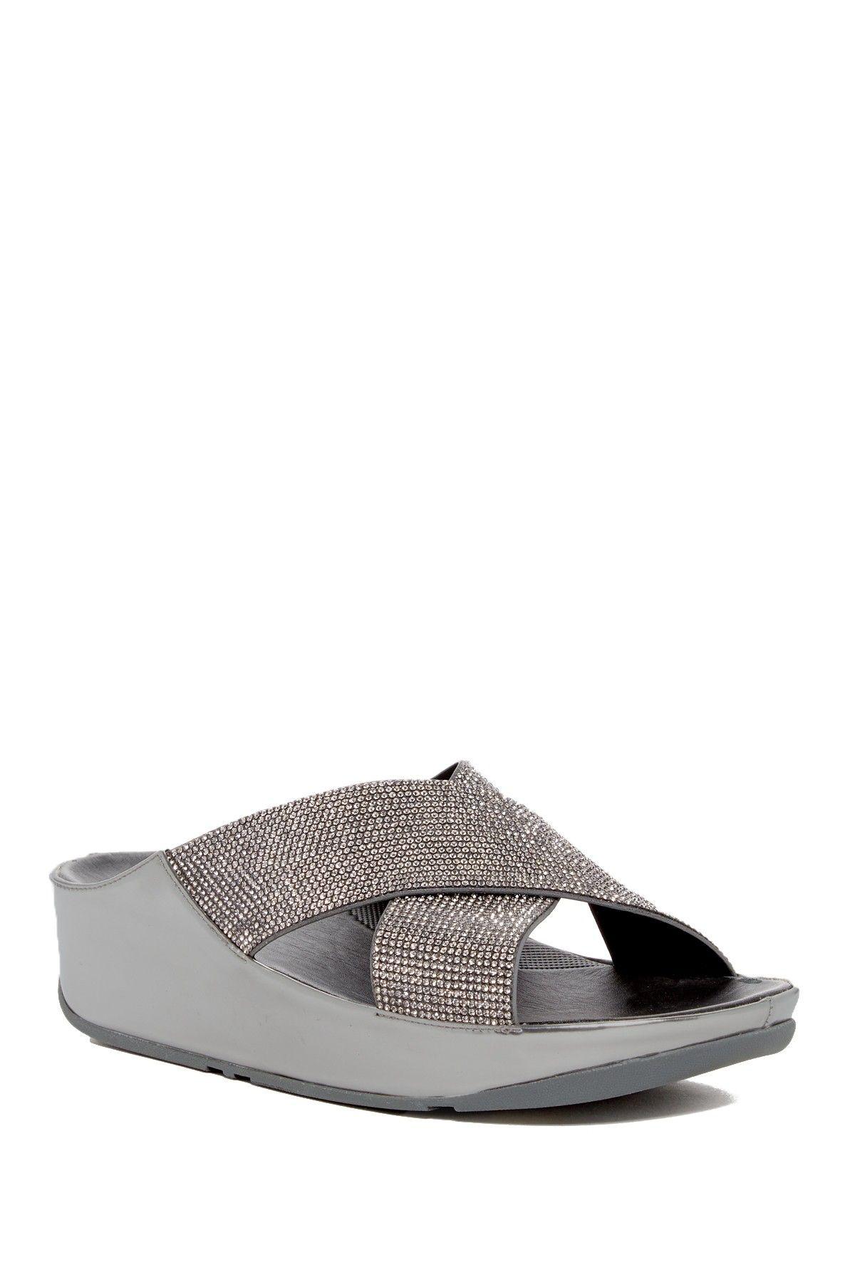 735f6206d Crystal Slide Sandal Fitflop Sandals