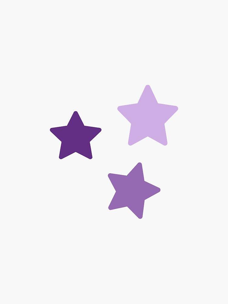 Purple Star Pack Sticker By Peytontaylor06 Redbubble Purple Wallpaper Iphone Phone Wallpaper Patterns Purple Wallpaper