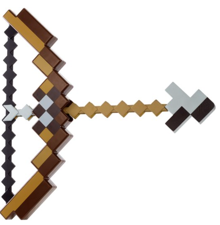 Your Very Own Minecraft Bow Shoot Pigs And Chickens To Get Your Meat Bowandarrow Minecrafter Minecraft Bow And Arrow Bow And Arrow Set Minecraft