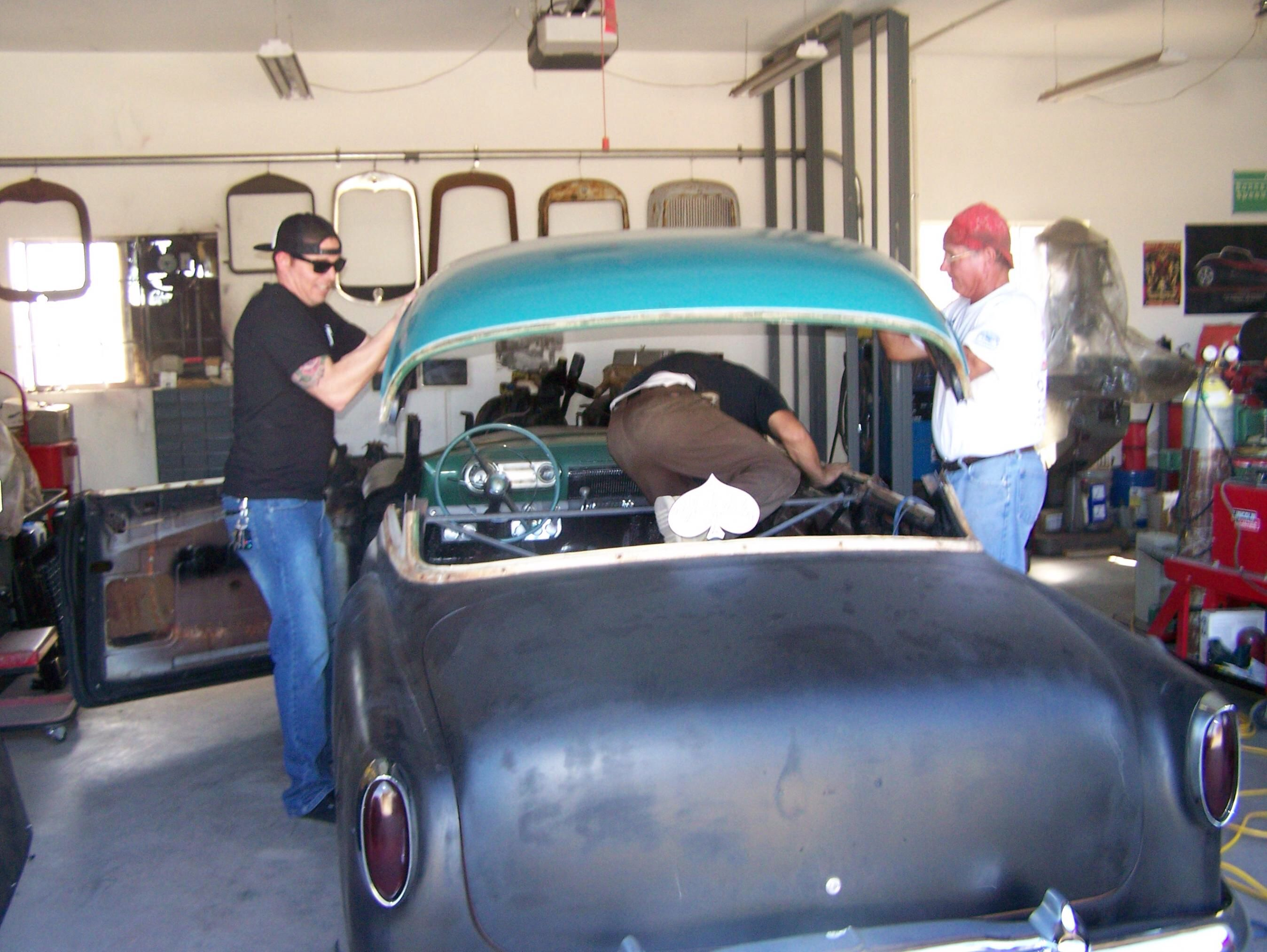 54 Chevy Chop Chevy Auto Body Lead Sled