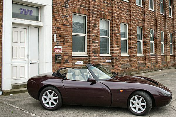 1990 TVR Griffith 500  The TVR factory at Bristol Road is silent...