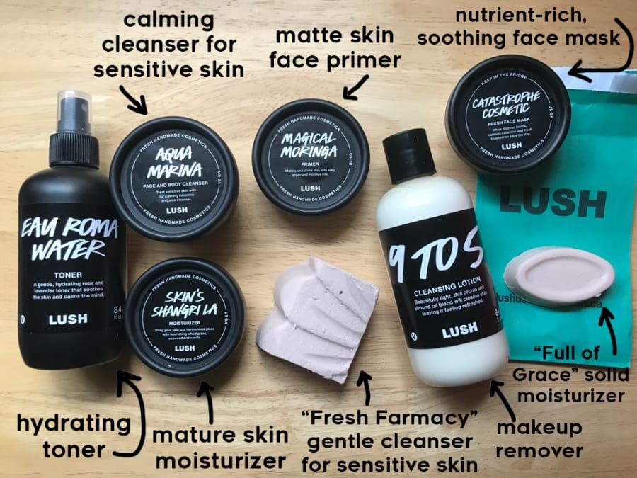 I Used Only Lush Skincare Products For A Month And Here S What Happened Face Cleanser Skin Cleanser Products Sensitive Skin Care