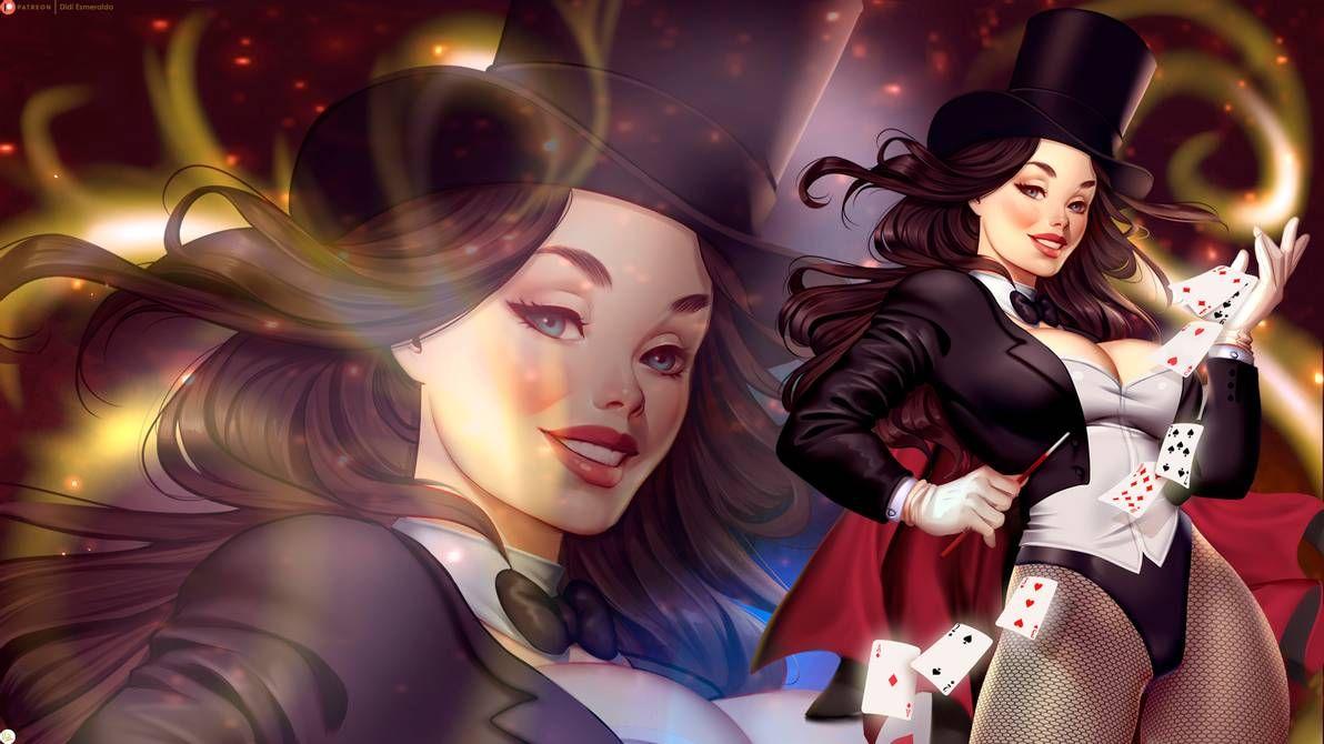 Zatanna Wallpaper By Didi Esmeralda On Deviantart In 2020 How To Look Pretty Didi Deviantart