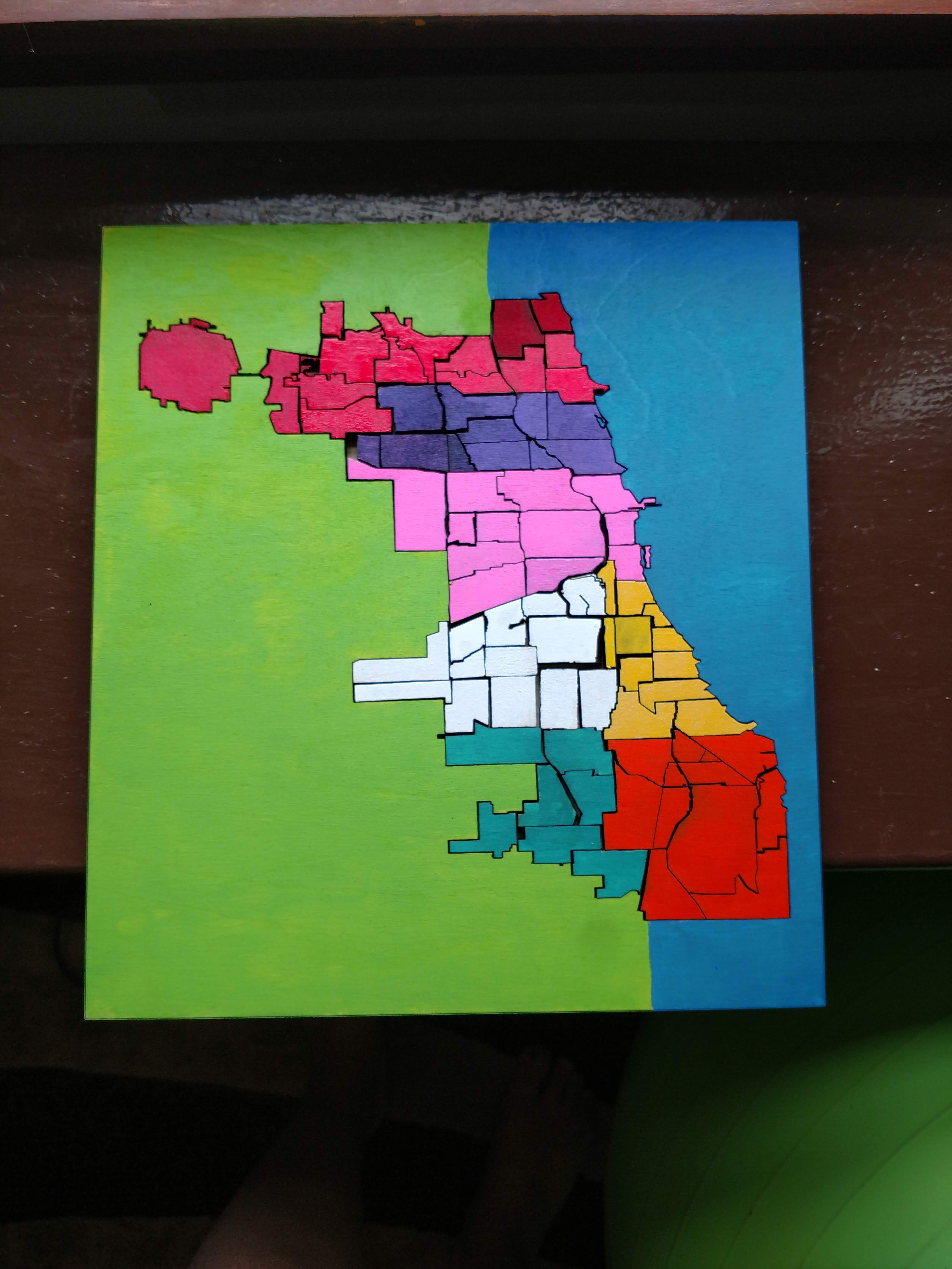 Birchwood Chicago Puzzle! A gift turning into a selling