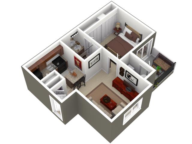 Apartment Planner apartment floor planner | plantas 3d, arquitetura | pinterest
