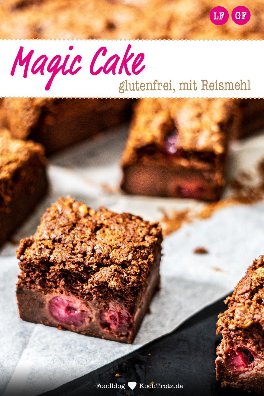 Glutenfreier Schokoladen Magic Cake Zauberkuchen Rezept In 2020 Rezepte Backrezepte Und Zauberkuchen