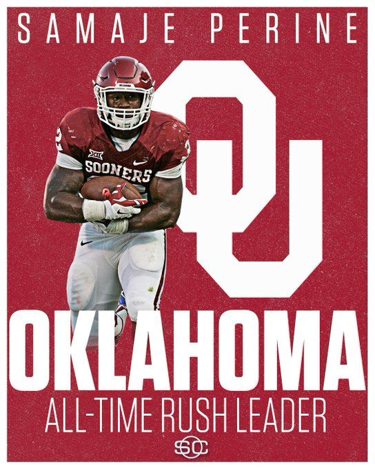 All Time Rushing Leader Ou Boomer Sooner Oklahoma Oklahoma