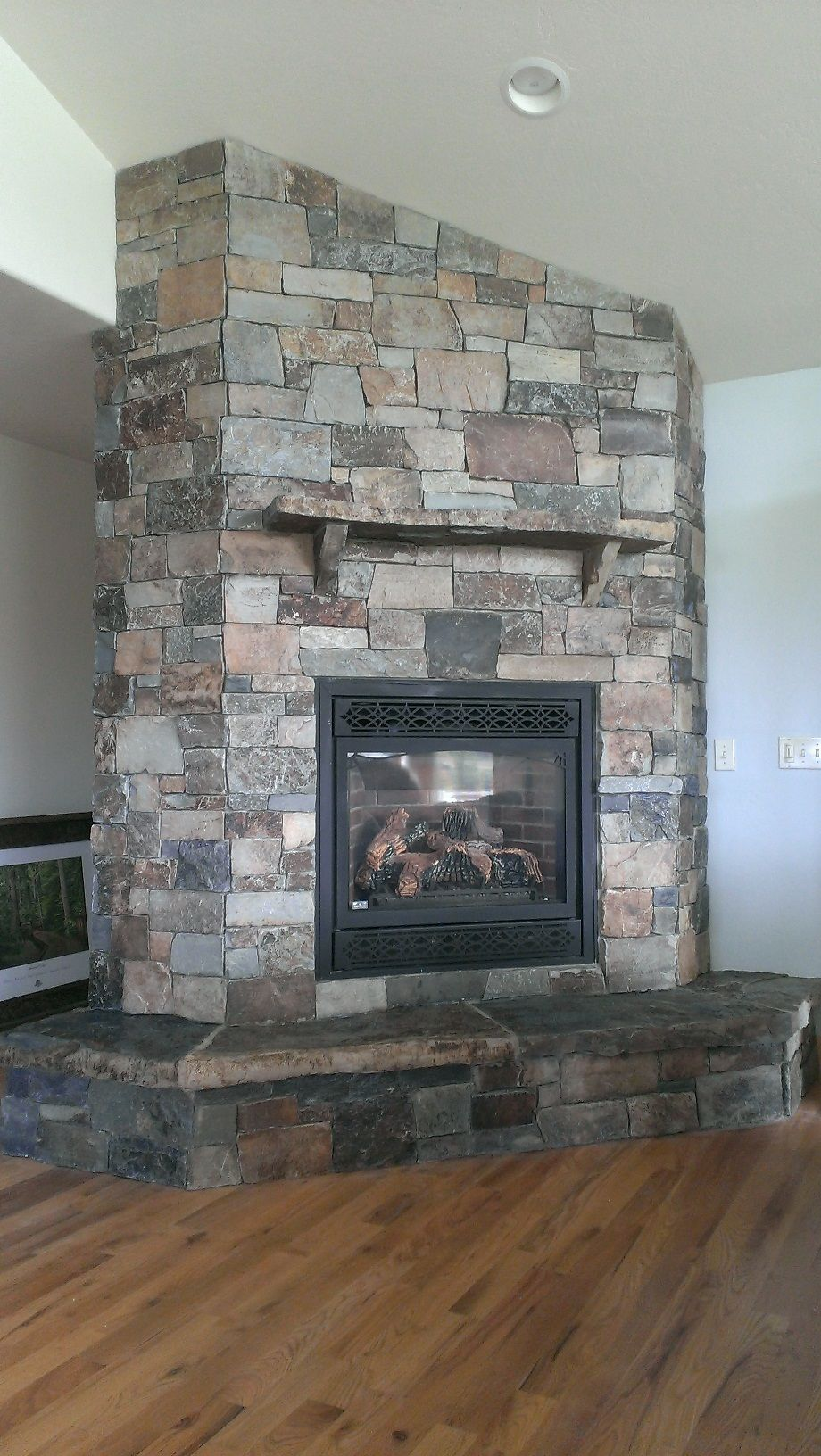 castle rock ledge thin veneer by montana rockworks installed by