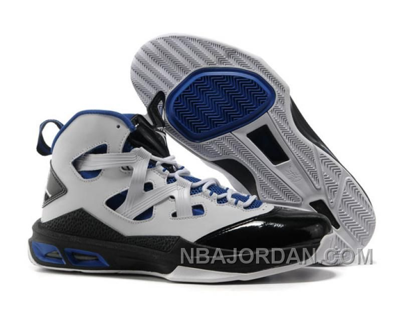 cc1fc0ced7a6d9 Michael Jordan Melo Color Matching White Royal Blue   Black Cammelo Anthony  Sports Sneaker For Male