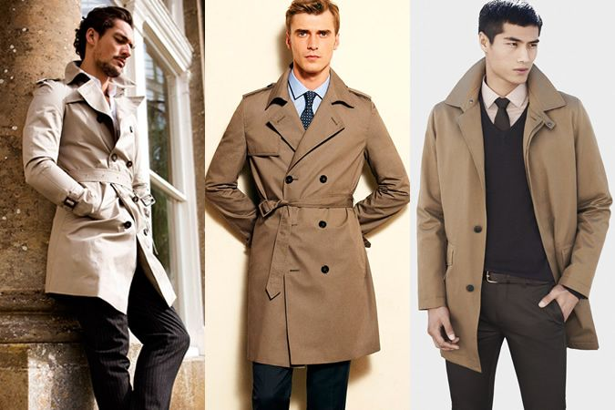 Beige MacTrench Coat | Mens outfits, Mens fashion classy
