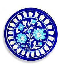 Blue And white Pottery Decor Plate