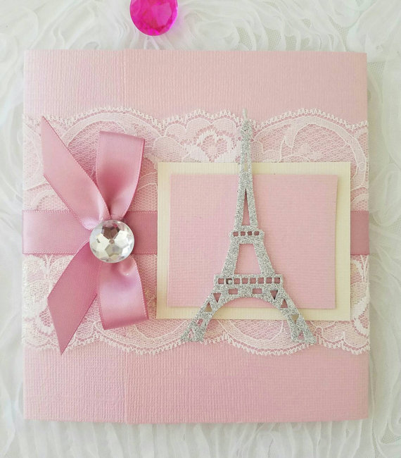 Paris Invitation Ideal For Your Next Sweetsixteen Xv Años