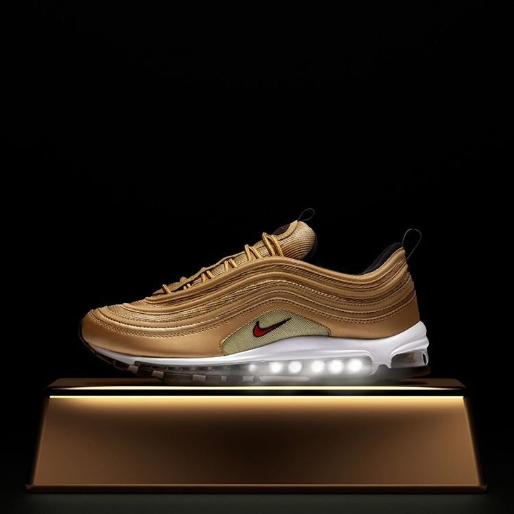 nike air max 97 gold bullet release