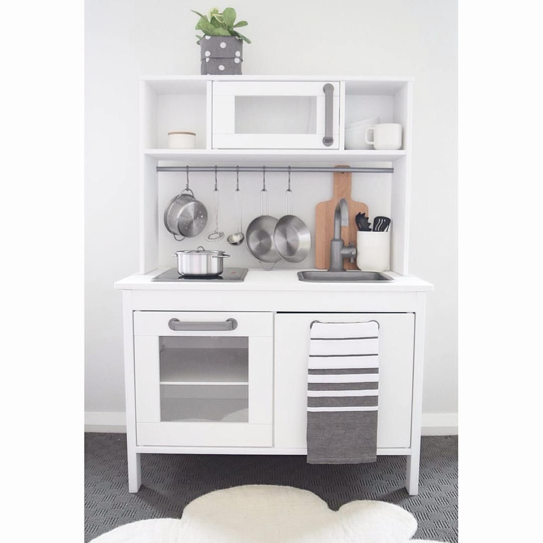 the design minimalist kids kitchen ikea hack kitchen makeover via ...