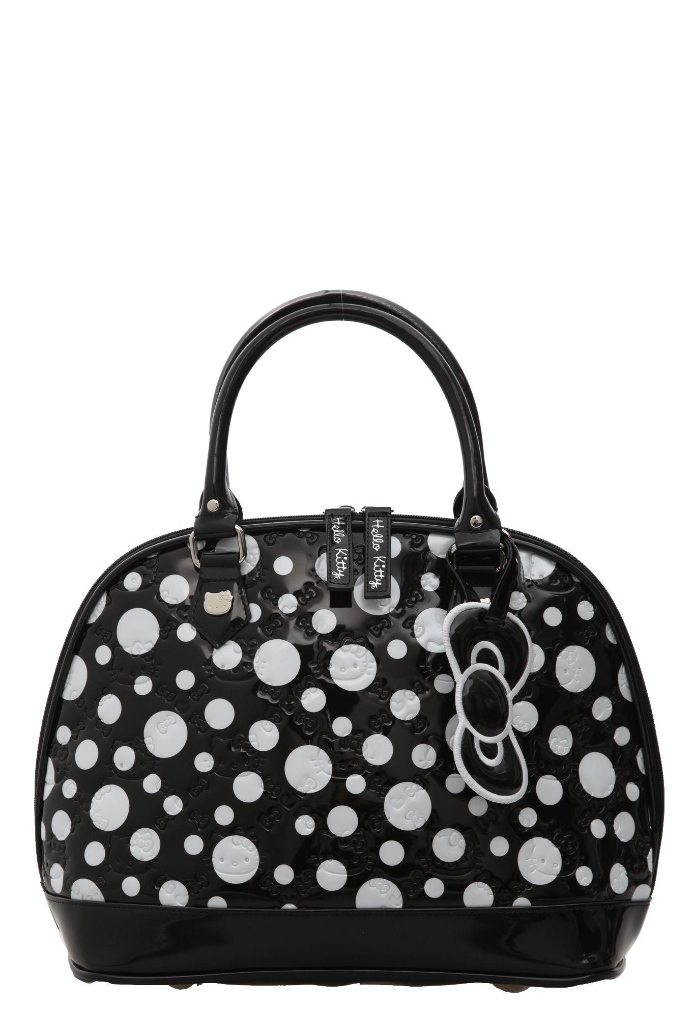 f6caae1718a1 Loungefly Hello Kitty Polka Dot Dome Bag