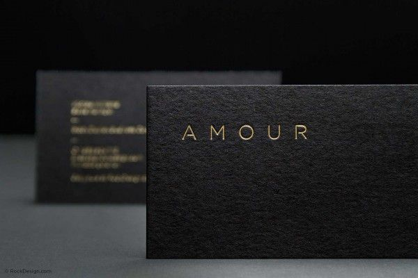 Fancy Unique Black Business Card Design Template Lawyer Business