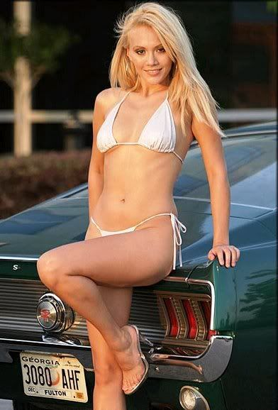 Mustangs With Hot Chicks - Google Search  Mustang Girls -4278