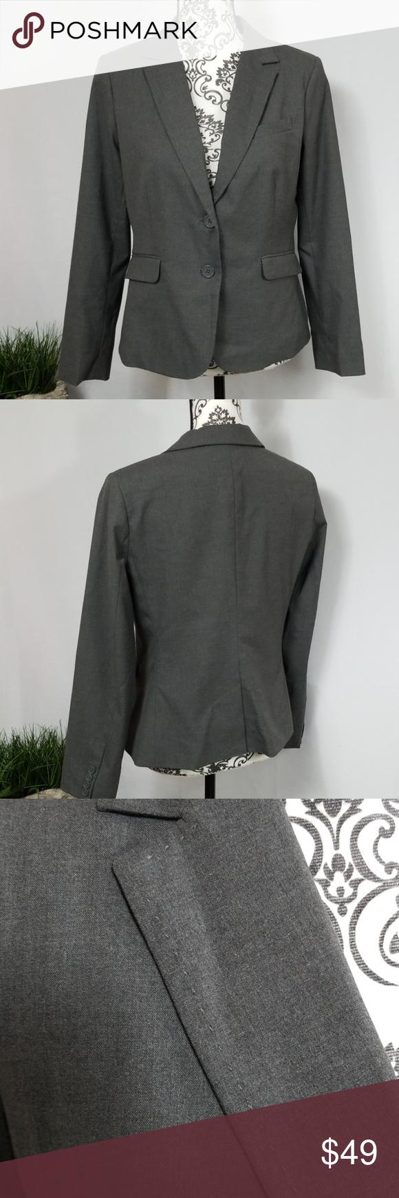New York Co Suit Jacket Coats Jackets Women Cropped Linen Pants Blue Suit Jacket [ 1740 x 580 Pixel ]