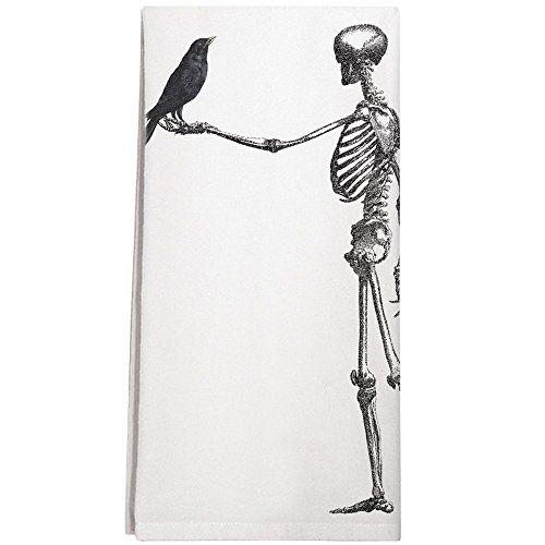 Montgomery Street Skeleton and Raven Cotton Flour Sack Di... https://www.amazon.com/dp/B01I4DCU7K/ref=cm_sw_r_pi_dp_x_7R5SybF4Z05X2