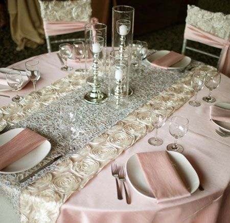 I Love These Table Runners Duck Egg Blue And