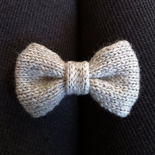 Basic Bow Tie Pattern By Courtney Spainhower Knit And Crochet