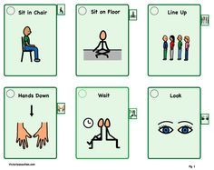FREE Visual Cue Cards to Download! | CLASSROOM MANAGEMENT ...