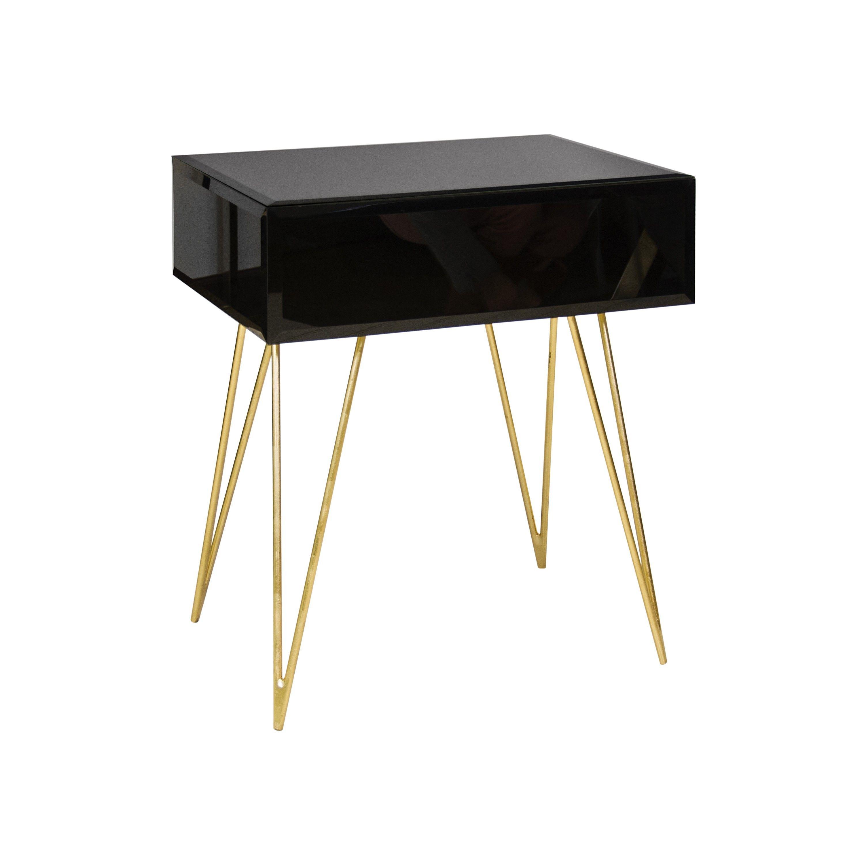 world away furniture. Worlds Away Debra Black Grass Side Table. World Furniture \