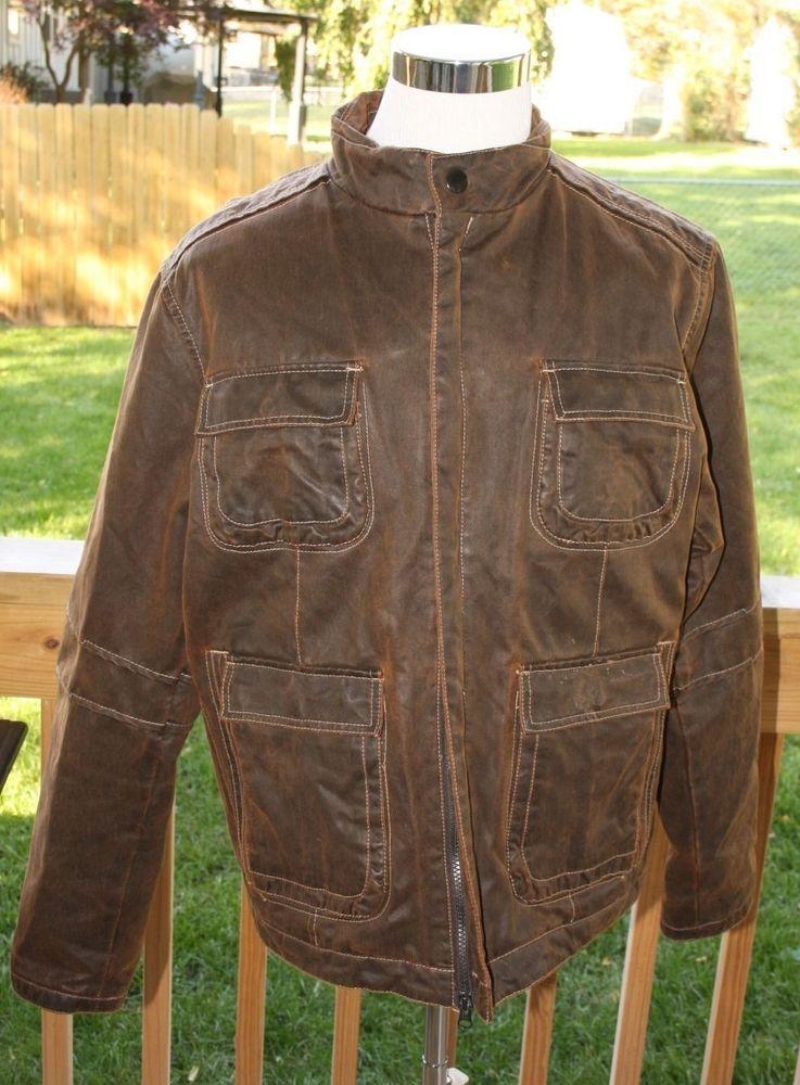 *COOL* Men's BKE The Buckle Jacket, Rustic Brown - Size L Regular Fit  #BKEBuckle #BasicJacket