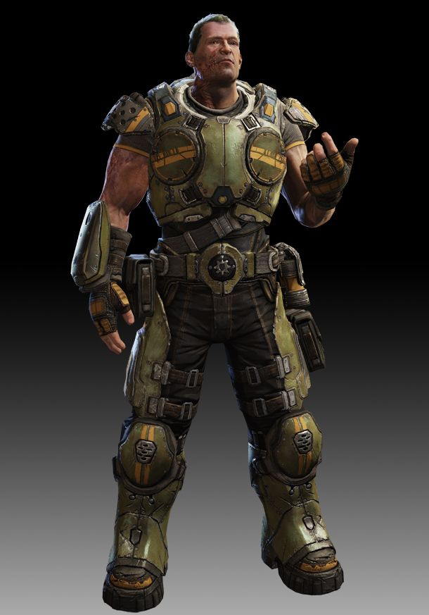 Garron Paduk One Of The Main Protagonists Of Gears Of War Judgement Gears Of War Gears Of War 3 Gears