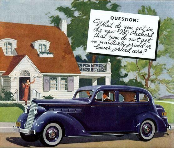 1935 Packard sales brochure Family \ Cars Pinterest Cars - sales brochure