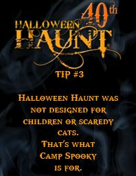 Words to live by for Haunt!  #40thHaunt #ScaryFarm #Halloween