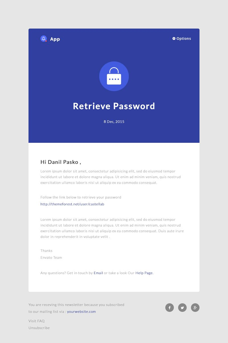 Notificationapp Responsive Notification Email Html