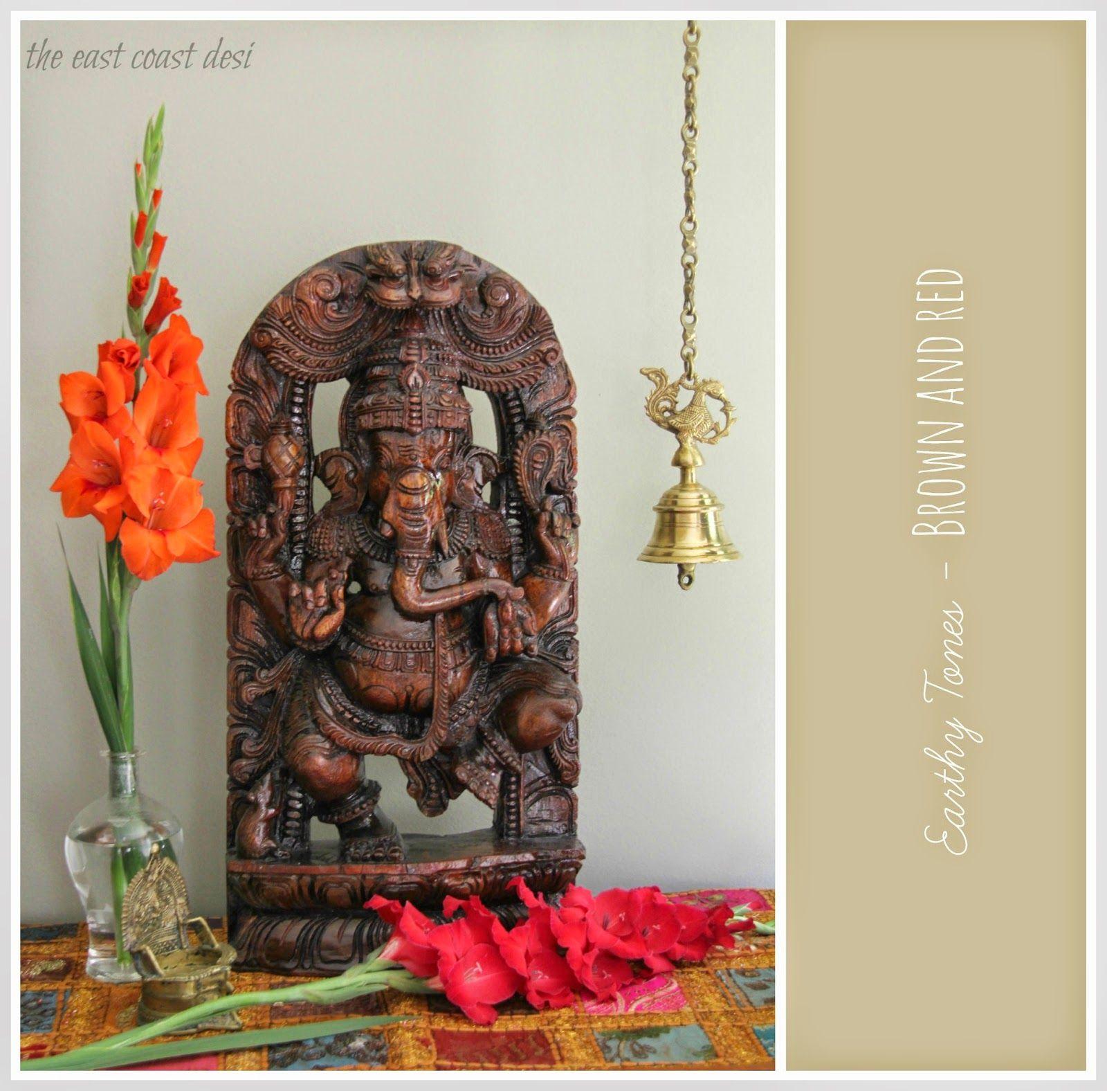 Celebrate Ganesh Chaturthi in Glorious Technicolor   Decor ...
