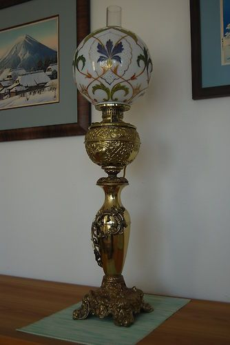 Gwtw Antique Victorian Oil Kerosene Old