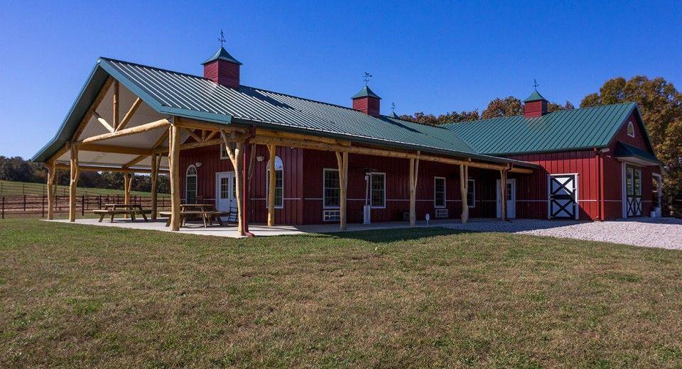 Exceptional Donu0027s Stall Barn W/ Living Quarters | Morton Buildings