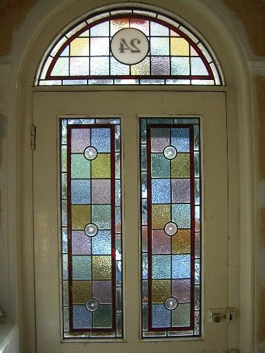 Image Result For Victorian Style Stained Glass Window Door