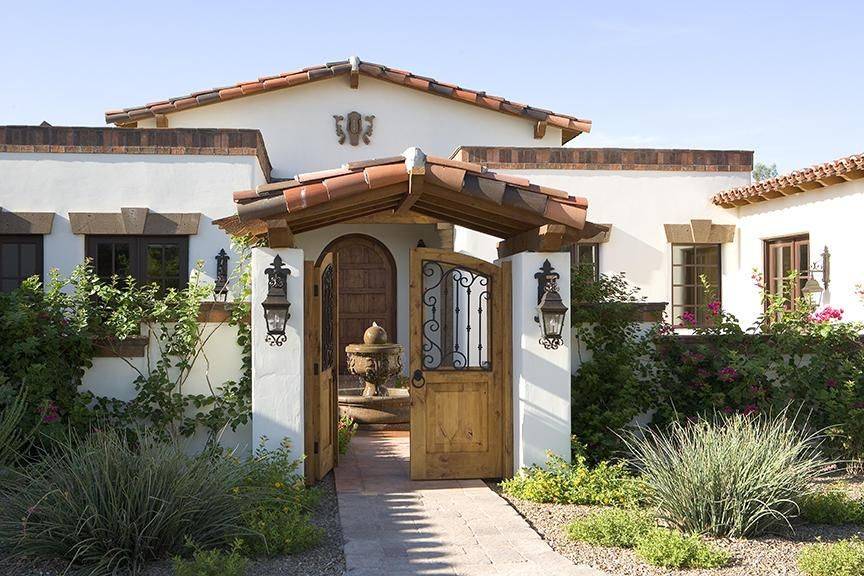 Spanish Designs For Homes Front E A on