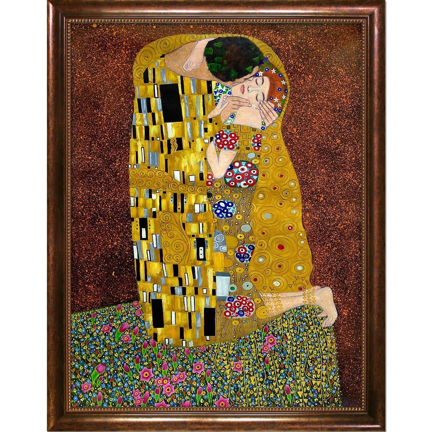 Gustav Klimt The Kiss | Products | Pinterest | Klimt, Online art ...