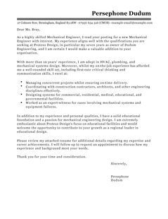 All Engineering Covering Letter Samples Civil Engineer Sample