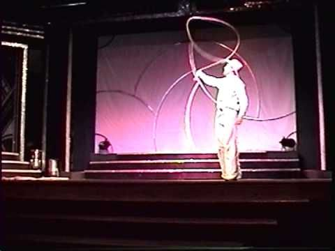Spencer Carlson - Trick Roping - YouTube