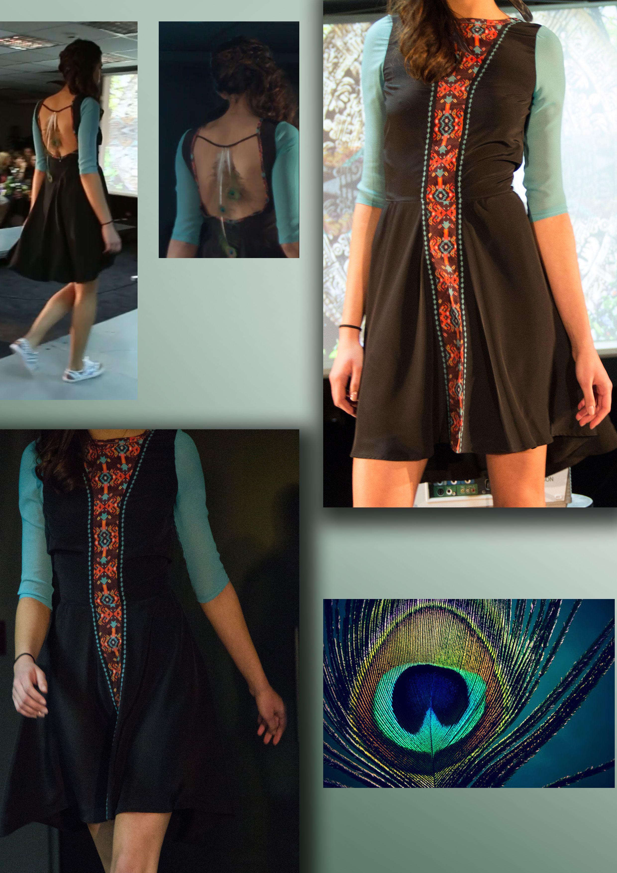 #AZTEC by: Viktoria Neikova, shoes by: DA sneakers - Anna Dimcheva #womenfashion #summerstyle #longskirt #aztecprint #chifon #blouse #peacockfeathers  https://www.facebook.com/pages/DA-sneakers/690262114339610?fref=ts
