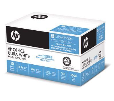 Now 29 99 Hp Office Paper 8 5x11 10 Ream Case Paper Limit 4 At Officemax Com Paper Paper City Letter Size Paper