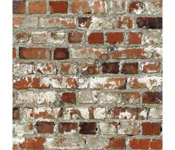 Best Muriva 102538 Loft Brick Wallpaper Wallpaper Depot Red 400 x 300