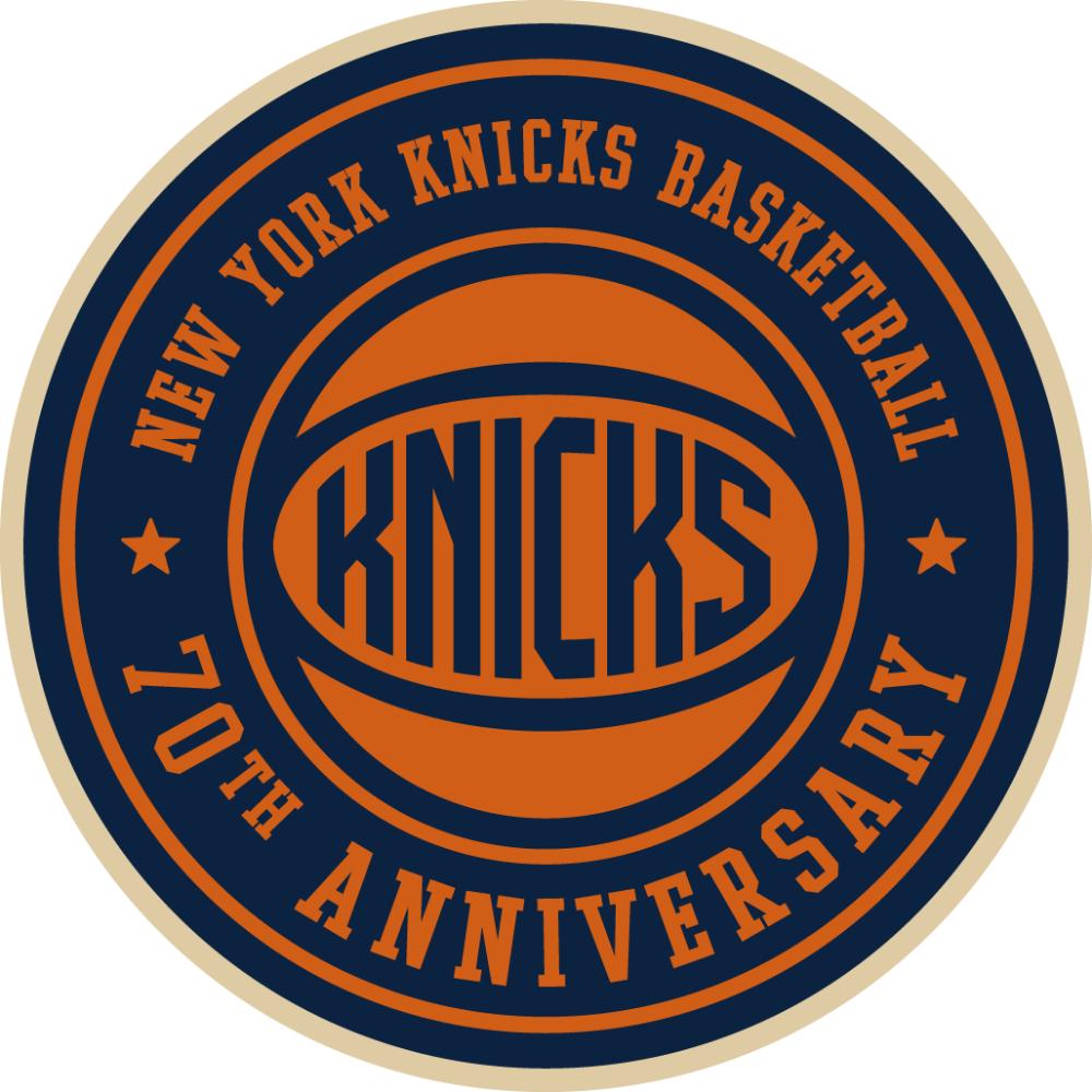 New York Knicks Anniversary Logo 2016 17 New York Knicks Logo Knicks New York Knicks
