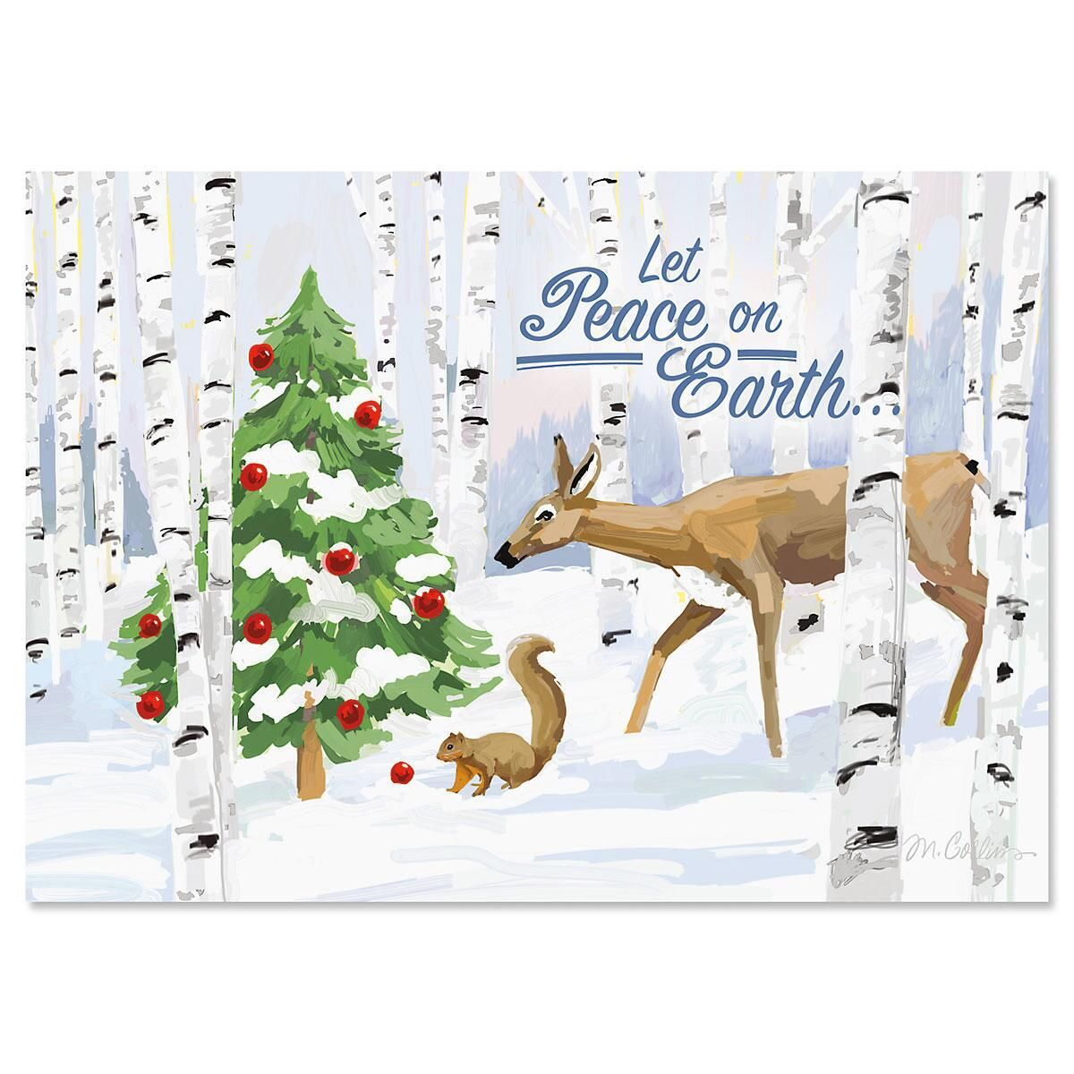 forest curiosity nonpersonalized christmas cards current catalog - Current Christmas Cards