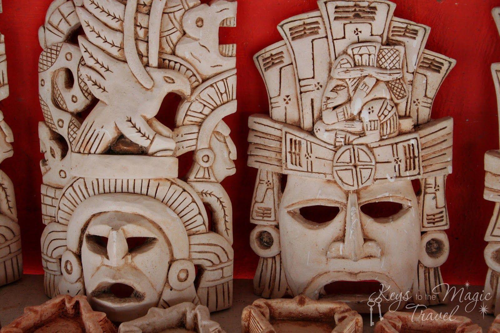 Keys to the magic travel tulum shore excursion mayan masks