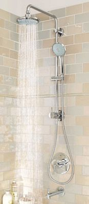 Retro Fit Systems Shower Systems For Your Shower Shower Heads Shower Systems Minimalist Showers