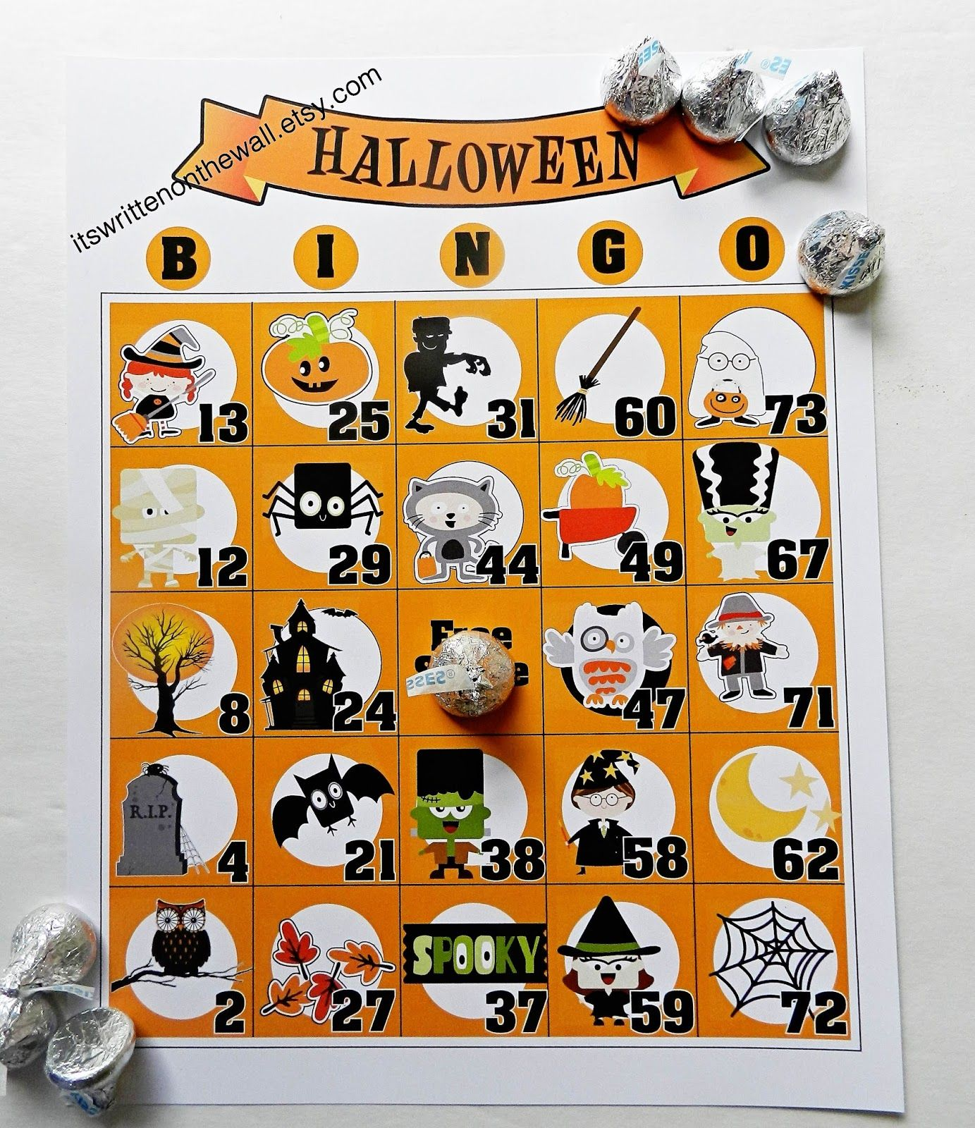 Such a fun game for your Halloween Party! Four different